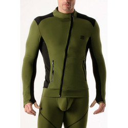 Kleidung Herren Sweatshirts Code 22 Kompressionsmantel Code22 Lavendel