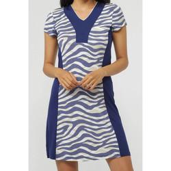 Kleidung Damen Kurze Kleider Admas Strandkleid Navy Skin Blau