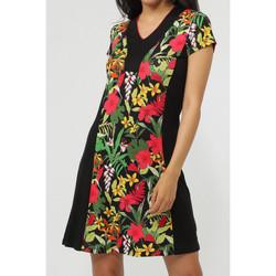 Kleidung Damen Kurze Kleider Admas Strandkleid Hawaii Grün