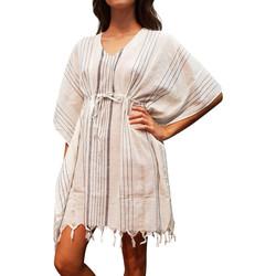 Kleidung Damen Tuniken Lascana Strandtunika Ibiza Gelb