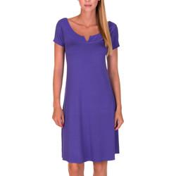 Kleidung Damen Kurze Kleider Lisca Strandkleid Bilbao Blau