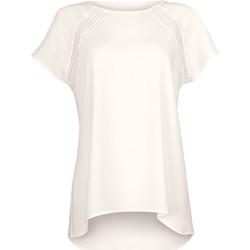 Kleidung Damen Tops / Blusen Lisca Zeitloses Kurzarm-T-Shirt Wange von Gelb