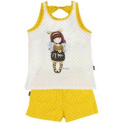 Kleidung Mädchen Pyjamas/ Nachthemden Admas Bienenbeliebte Pyjamas und Shorts Bienenbeliebtes Santoro Khaki