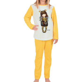 Kleidung Damen Pyjamas/ Nachthemden Admas Bienenbeliebtes Pyjamatop und Hose Santoro London Khaki