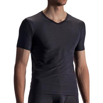 Kleidung Herren T-Shirts Olaf Benz T-Shirt RED1866 Perlschwarz