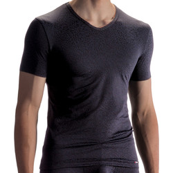 Kleidung Herren T-Shirts Olaf Benz T-Shirt PEARL1858 Perlschwarz