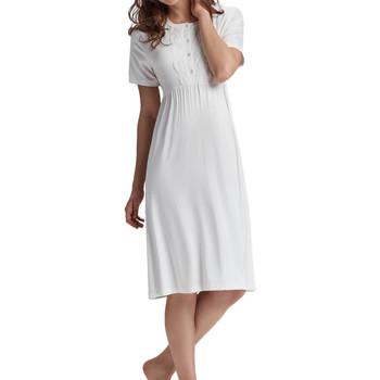 Kleidung Damen Pyjamas/ Nachthemden Admas Premama  Nachthemd Gelb