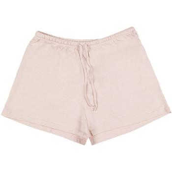 Kleidung Damen Pyjamas/ Nachthemden Admas Innenbekleidung Pyjama-Shorts Tank-Top Heute Outfit Koralle Jeansstoff