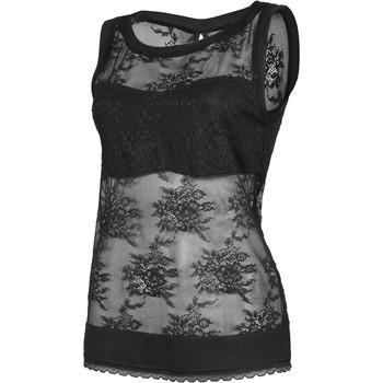 Kleidung Damen Tops / Blusen Lisca Eternity Tank Top schwarz Perlschwarz