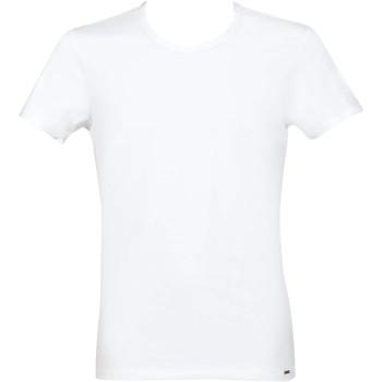Kleidung Herren T-Shirts Lisca Apolon  Männer T-Shirt Weiß