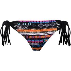 Kleidung Damen Bikini Ober- und Unterteile Luna Apache -Badeanzug-Strümpfe Perlschwarz