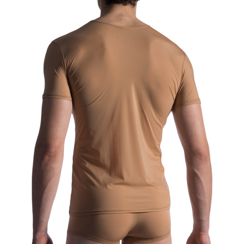 Manstore M808 Unsichtbares T-Shirt Pflaume - Kleidung T-Shirts Herren 4400 hK3gM