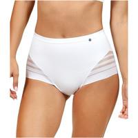 Unterwäsche Damen Damenslips Lisca Slip mit hoher Taille Alegra Weiß