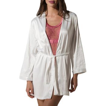 Kleidung Damen Pyjamas/ Nachthemden Luna Kimono Prestige de Gelb