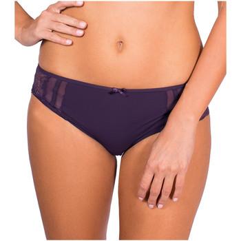 Unterwäsche Damen Shorties / Boxers Luna Mitternacht Kurzer violetter Violett/orange