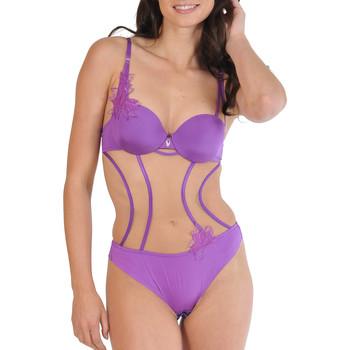 Unterwäsche Damen Bodys Lisca Körperkette Göttliche Violett/orange