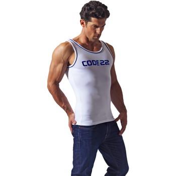 Kleidung Herren Tops Code 22 Basic Code22 Tank Top Weiß