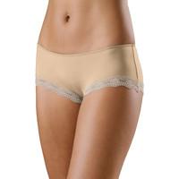Unterwäsche Damen Shorties / Boxers Lascana Mikrofaser Shorty Perfekt Basic Pflaume