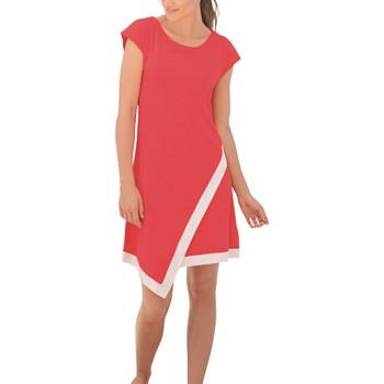 Kleidung Damen Kurze Kleider Lisca Strandkleid Ischia Sand
