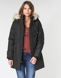 Kleidung Damen Parkas Vero Moda VMEXCURSION EXPEDITION Schwarz