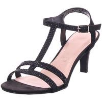 Schuhe Damen Sandalen / Sandaletten Jane Klain Sandalen glatter Boden UEber 5 BLACK 005
