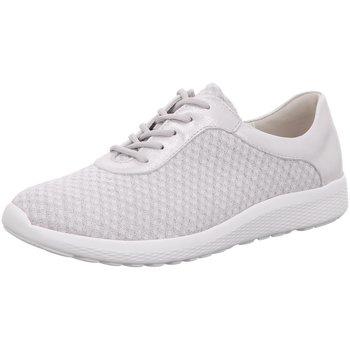 Schuhe Damen Sneaker Low Waldläufer Schnuerschuhe K-Iris weiß