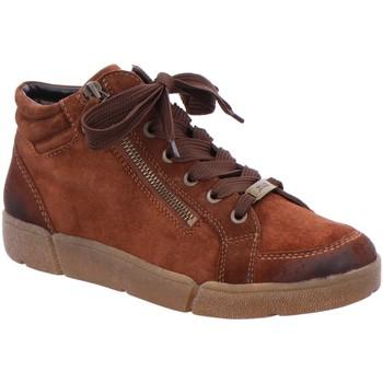 Schuhe Damen Sneaker High Ara Schnuerschuhe Rom Highsoft Boot 12-14435-07 braun