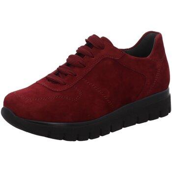 Schuhe Damen Sneaker Low Semler Schnuerschuhe SAMT-CHEVRO S2045042/062 rot