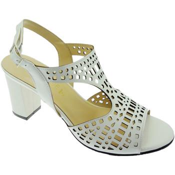 Schuhe Damen Sandalen / Sandaletten Soffice Sogno SOSO8130bi bianco