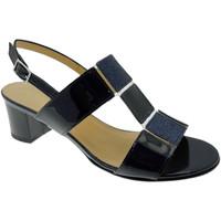 Schuhe Damen Sandalen / Sandaletten Soffice Sogno SOSO9420bl blu