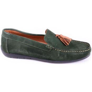 Schuhe Herren Slipper Keelan 58846 GREEN