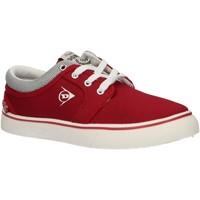 Schuhe Kinder Sneaker Low Dunlop 35396 Rojo