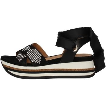 Schuhe Damen Sandalen / Sandaletten Janet Sport 43754 BLACK