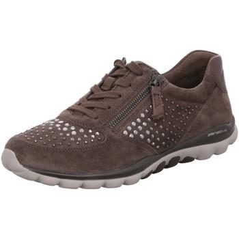Schuhe Damen Derby-Schuhe Rollingsoft By Gabor Schnuerschuhe 56.968.30 grau