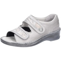 Schuhe Damen Sandalen / Sandaletten Stuppy Sandaletten Sandalette Smog-Fango G-Weite 1542-609521 silber