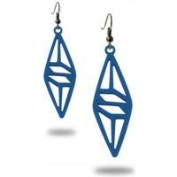 Uhren Damen Ohrringe Blue Pearls LAD 0326 Blau