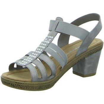 Schuhe Damen Sandalen / Sandaletten Supremo Sandaletten Sandl.ab50 gl.B.Abs 4822705 00011 grau