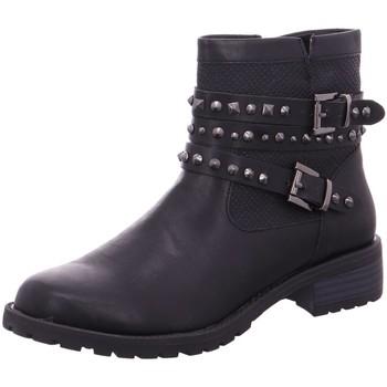 Schuhe Damen Low Boots Pep Step Stiefeletten Schlupf/RV-St.Sp-Bod 1013091 schwarz