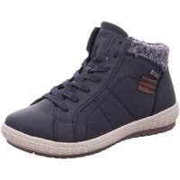 Schuhe Damen Schneestiefel Supremo Stiefeletten 5820301,navy 5820301 00003 blau