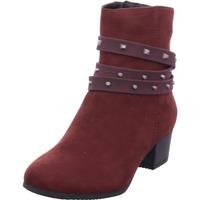 Schuhe Damen Stiefel Jana Woms Boots BORDEAUX