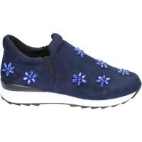 Schuhe Mädchen Slip on Holalà slip on synthetisches wildleder blau