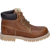 Schuhe Jungen Boots Melania stiefeletten leder braun