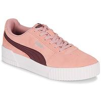 Schuhe Damen Sneaker Low Puma COURT CALI RS Rose