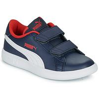 Schuhe Jungen Sneaker Low Puma SMASH PS Marine