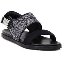 Schuhe Damen Sandalen / Sandaletten Carmens Padova GLITTER FUMO Multicolore