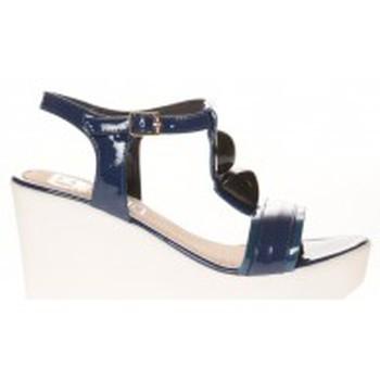 Schuhe Damen Sandalen / Sandaletten Cassis Côte d'Azur Sandales Orso Bleu marine Blau