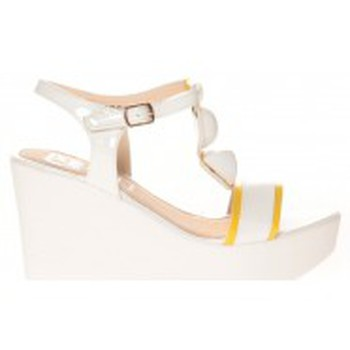 Schuhe Damen Sandalen / Sandaletten Cassis Côte d'Azur Sandales Orso Blanc Weiss