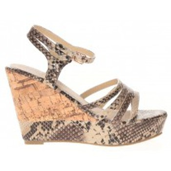 Schuhe Damen Sandalen / Sandaletten Cassis Côte d'Azur Sandales Manakine Beige Beige