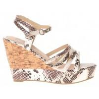 Schuhe Damen Sandalen / Sandaletten Cassis Côte d'Azur Sandales Manakine Blanc Weiss