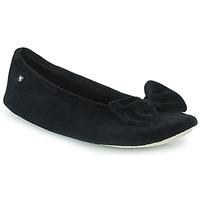 Schuhe Damen Hausschuhe Isotoner 95810 Schwarz